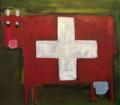 Croix suisse verte